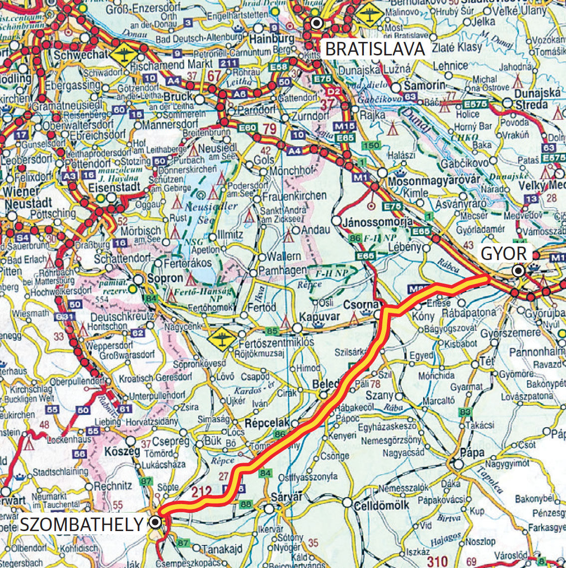 7733ab4f5865 Nová diaľnica v Maďarsku zlákala dovolenkárov - Ekonomika - Správy ...