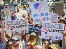 protest, USA, protest proti rasizmu, 2017