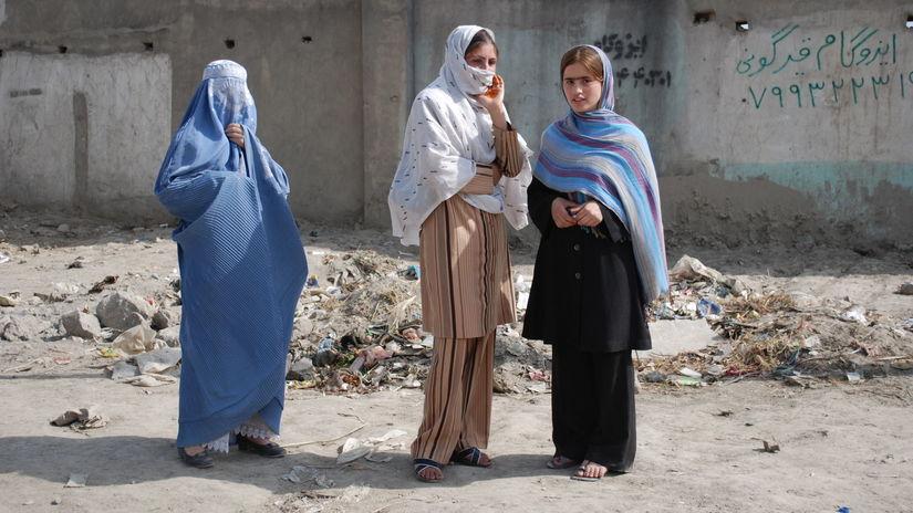 afganky, ženy, utečenky