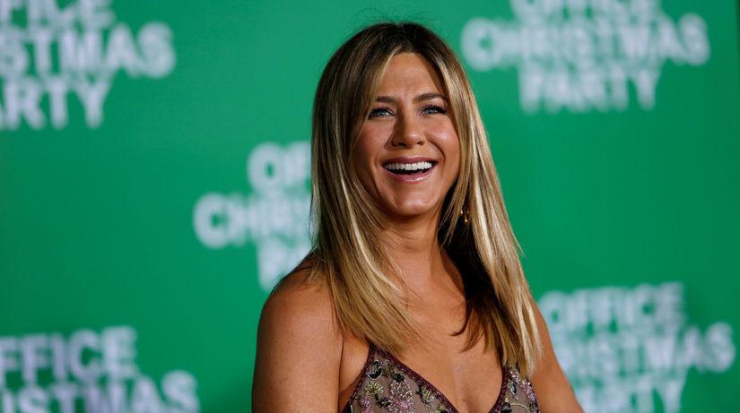 Herečka Jennifer Aniston na archívnom zábere.