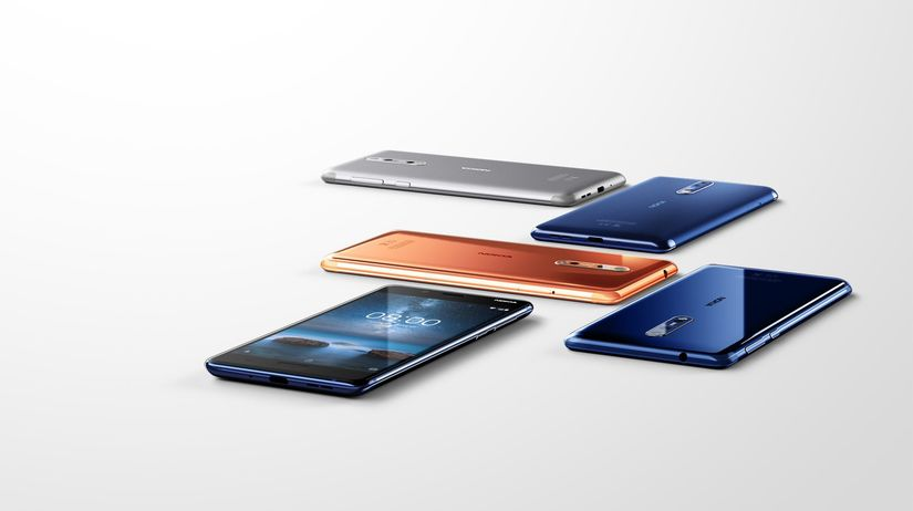 Nokia 8, smartfón, mobil
