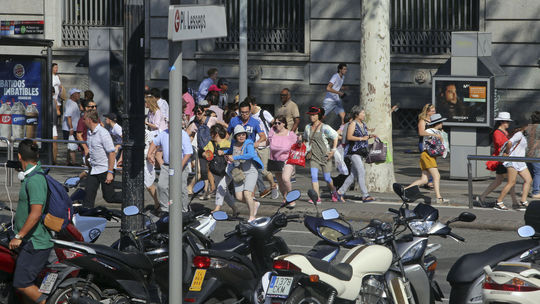 Španielsko, Barcelona, útok