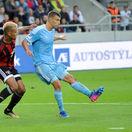 Trnava prvýkrát v sezóne padla. Slovan o víťazstve rozhodol v 1. polčase