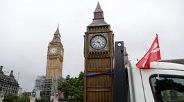 Big Ben, The Sun, model, zvon, veža, Londýn