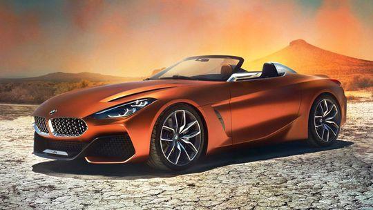 BMW Z4 Concept: Nový roadster je za rohom. Mení proporcie