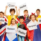 deti, škola, cudzie jazyky