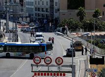 marseille, francúzsko, nehoda, útok, autobus,