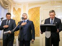 Robert Fico, Ján Richter, Peter Kažimír