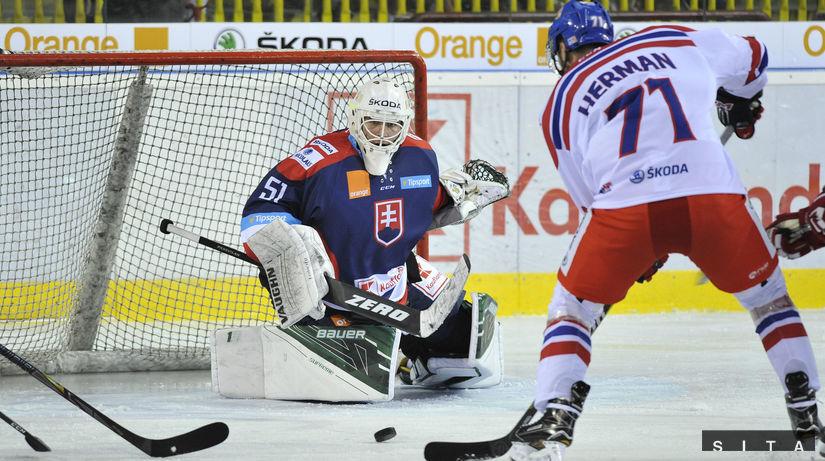 HOKEJ: Slovensko - Česko