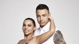 Michal Konrád a jeho tanečná partnerka Patrícia Martinovičová