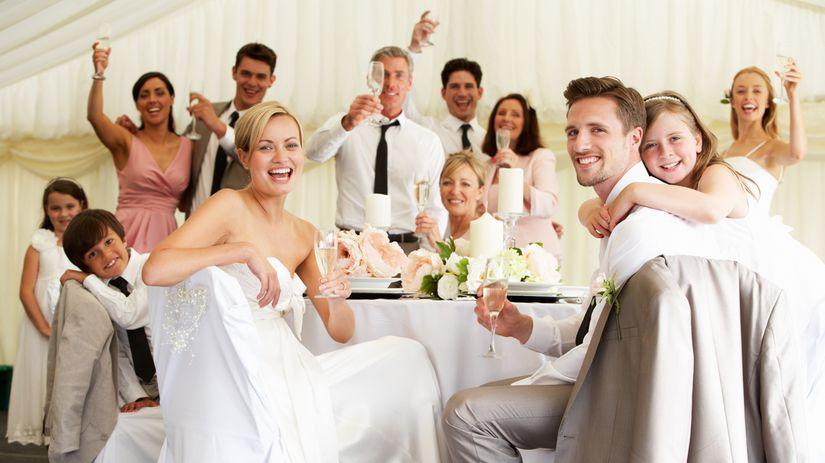 svadba, rodina, etiketa