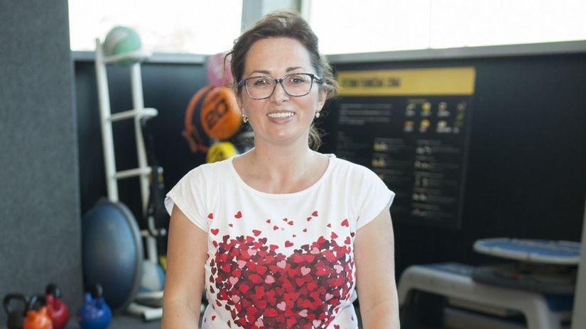 Fyzioterapeutka Erika Kubová