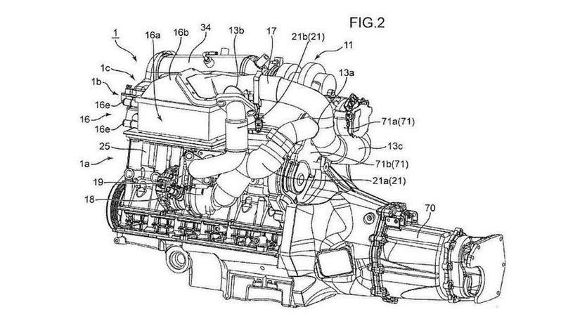 Mazda - motor s trojstupňovým preplňovaním