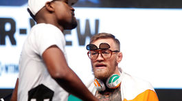 Conor McGregor, Floyd Mayweather Jr.