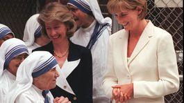 18. jún 1997: Matka Tereza a princezná Diana.