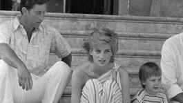 9. júl 1986: Princ Charles s manželkou Dianou