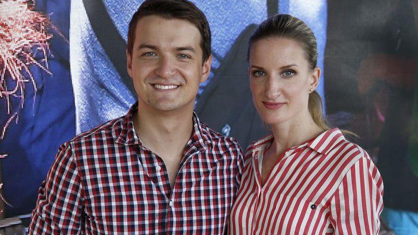 Manželia Adela Banášová a Viktor Vincze...