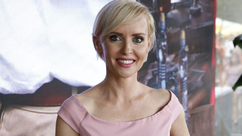 Moderátorka Kveta Horváthová.