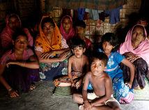 rohingovia, rohing, mjanmarsko, utecenci