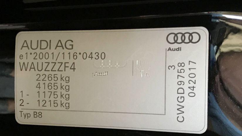 Audi - VIN