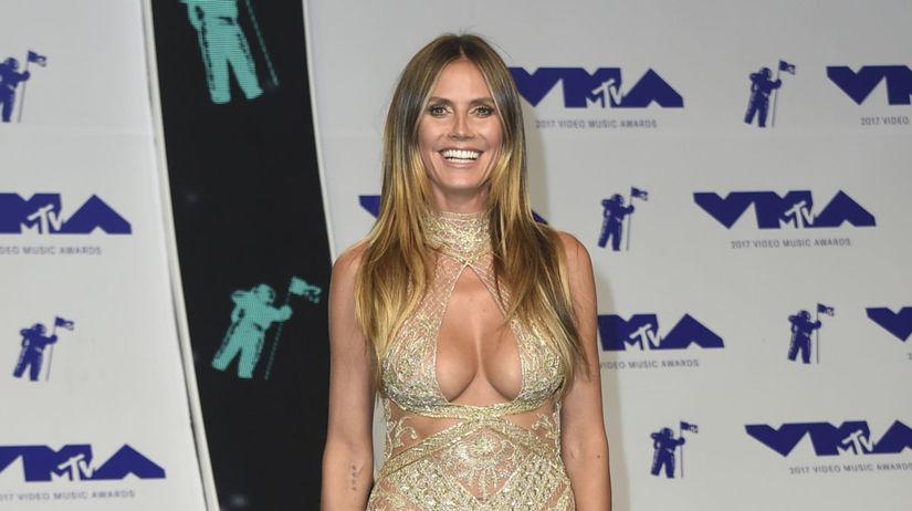 Modelka a televízna porotkyňa Heidi Klum v...
