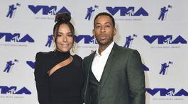 Raper a herec Ludacris s partnerkou Eudoxie Mbouguiengue.