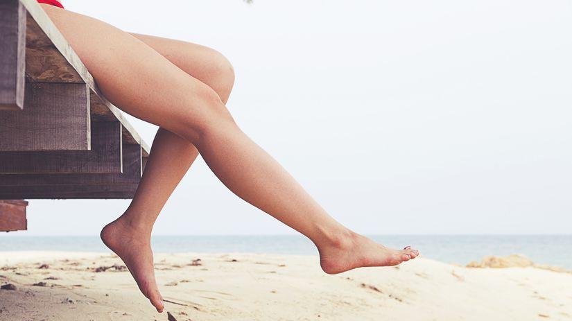 nohy, žily, dovolenka, mólo