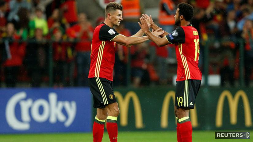 Belgicko Futbal
