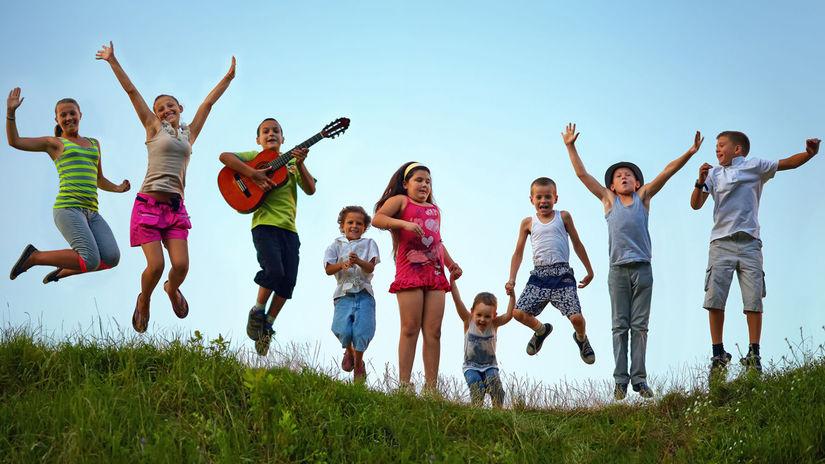 deti, tábor, škôlka, škola, hra, hranie, žiaci,...
