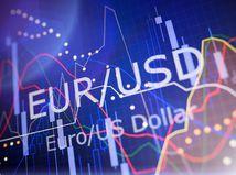 euro, dolár