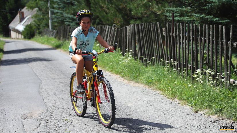 bicykel, cyklista, cyklotrasa, dieťa,...