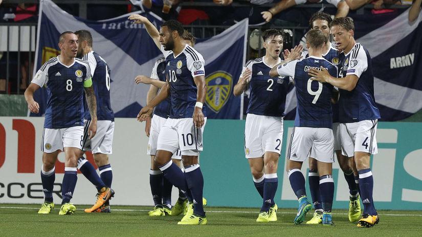 Škótsko, futbal