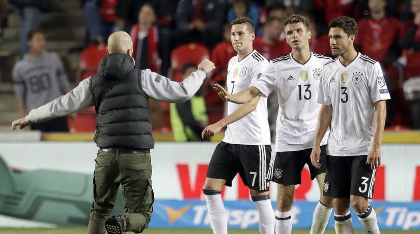 Nemecko futbal fans
