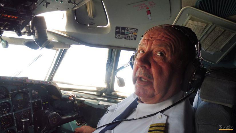 pilot, Kapitán Viliam Polnišer