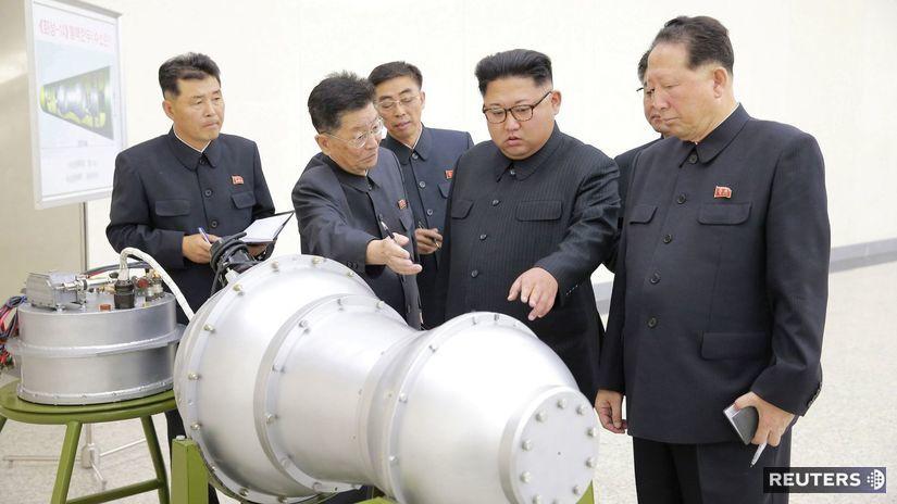Kim Čong-un, bomba, KĽDR