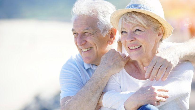 dôchodok, dôchodca, penzia, radosť