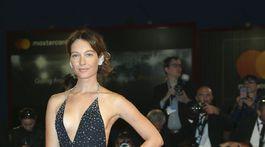 Členka poroty a herečka Christiana Capotondi.
