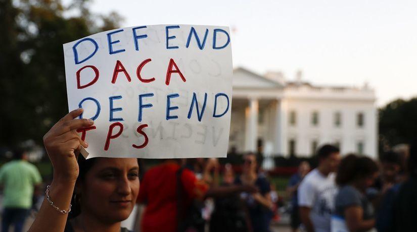 demonštrácia DACA