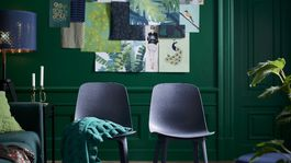 stena, zelená