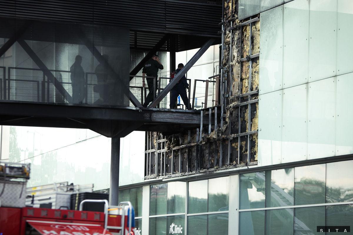 c6579df58a Požiar v bratislavskom Auparku vyšetrujú ako všeobecné ohrozenie ...