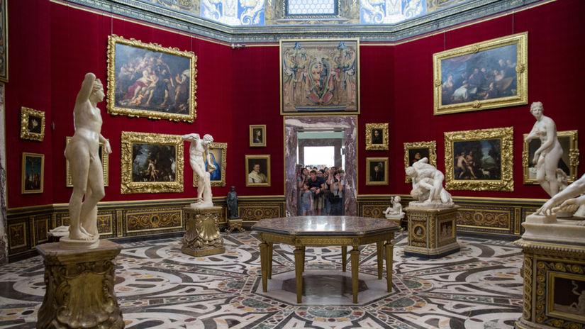 Florencia, Galéria Uffizi
