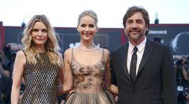Michelle Pfeiffer, Jennifer Lawrence a herec Javier Bardem