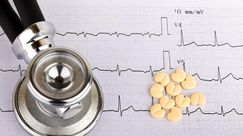 srdce, rytmus, EKG, arytmia, liek, pilulka,...