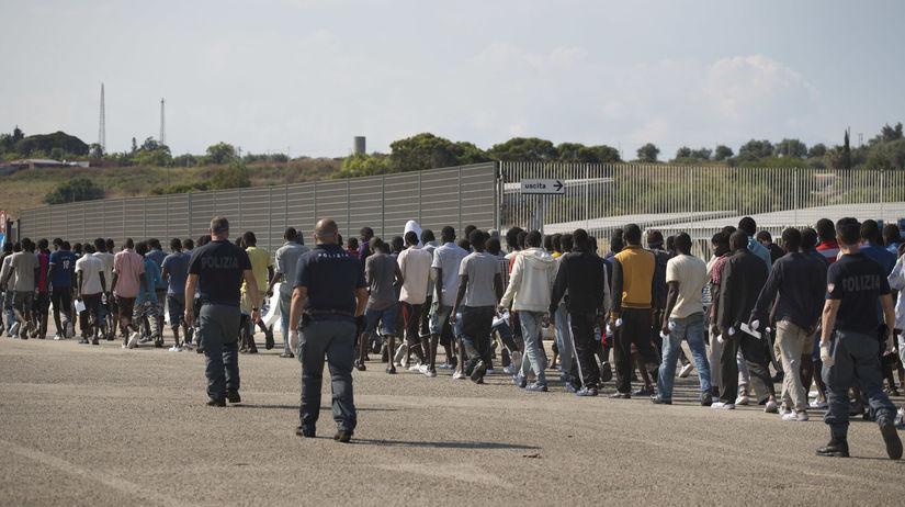 taliansko, migranti, migrant