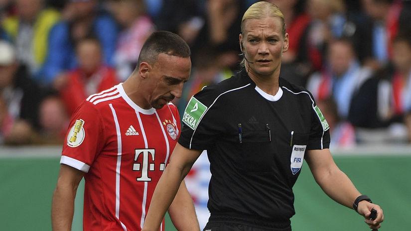 Bibiana Steinhausová, Franck Ribéry