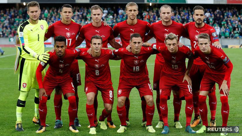 Česko, futbalisti