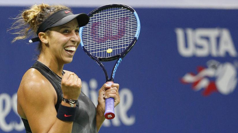 Keysová tenis US Open