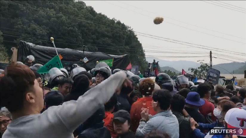 THAAD protest
