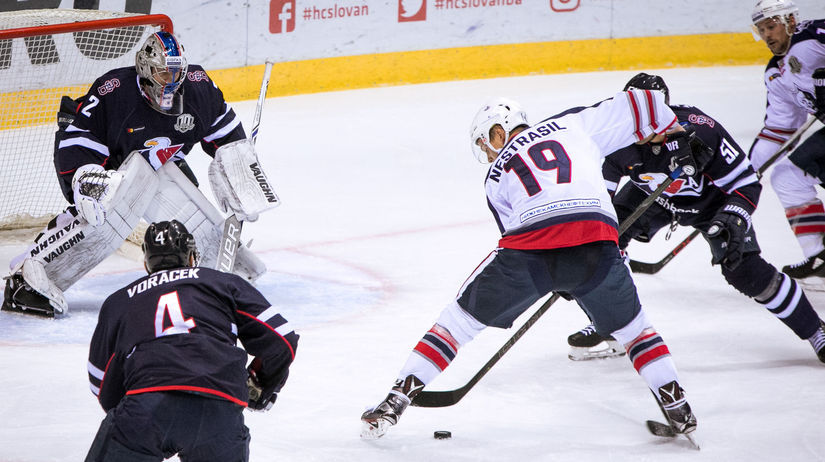 HC Slovan Bratislava - Neftechimik Nižnekamsk