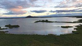 Island, jazero